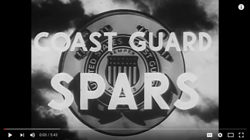 Circa 1943 U.S. Coast Guard Women's Reserves SPARs Vintage Film