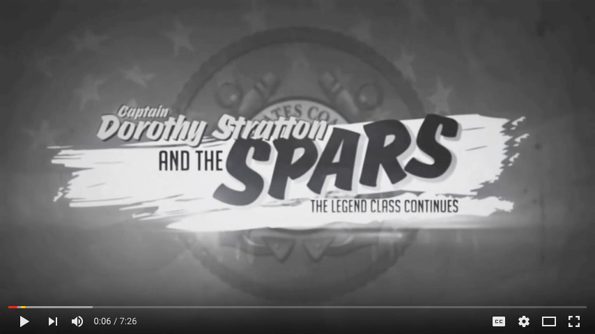 Dorothy Stratton and the SPARs, Film Presented at the Christening of the Cutter Stratton,  Named after Capt. Dorothy C. Stratton.  Commissioned by First Lady Michelle Obama.