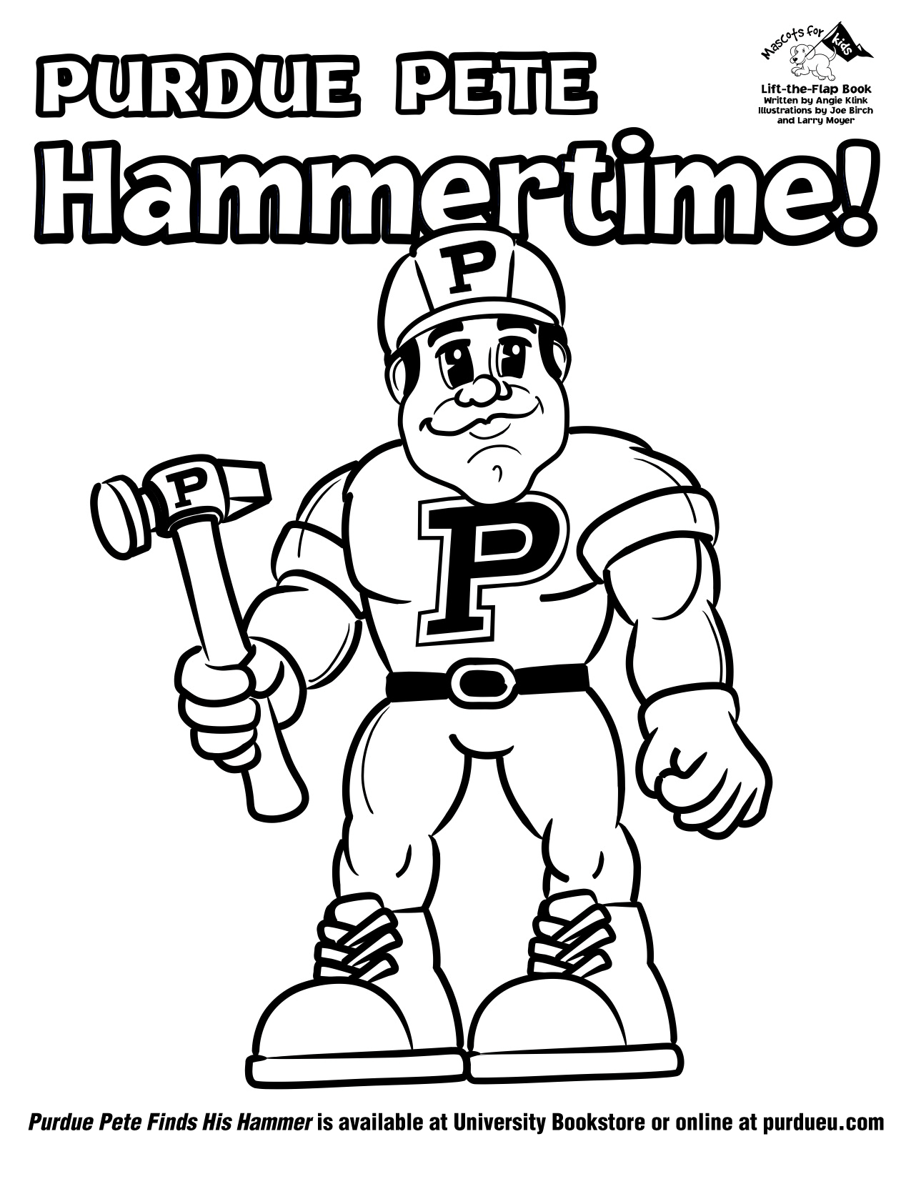 Purdue Pete Finds His Hammer | Angie Klink